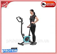 Велотренажер для дома магнитный до 100 кг Hop-Sport HS-010H Rio бирюзовый