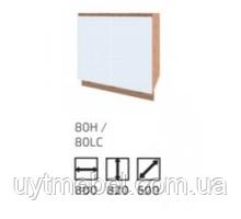 Кухня Софт 800 Н вотан/білий (Сокме)