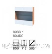 Кухня Софт 800 ВВ вотан/білий (Сокме)