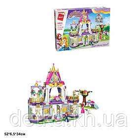 Конструктор Qman 2611 Princess Leah замок принцеси 628дет