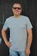 Серые мужские футболки рукав короткий