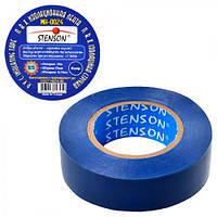 Изолента STENSON 10 м Синяя 10шт.