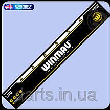 Дартс мишень сизаль Diamond plus Winmau Англия + дротики + линия для броска, фото 3