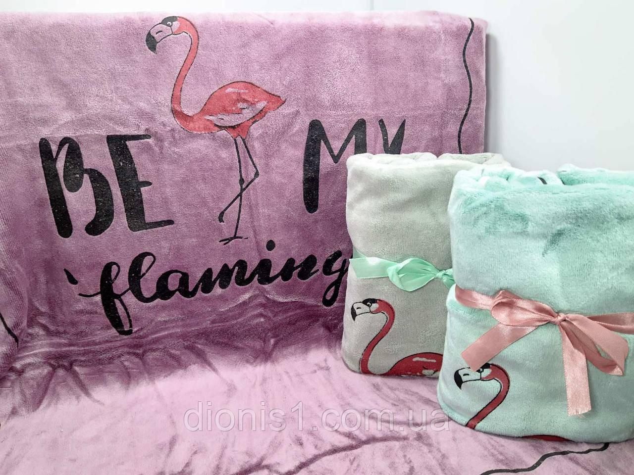 Полотенце лицевое фламинго фибра 3 шт в уп. размер 50*90