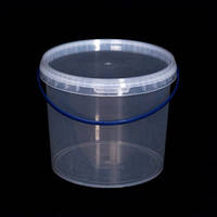 Ведро пластиковое пищевое, для меда 5 л. (20 шт.), фото 1