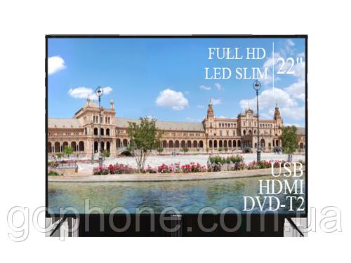"Телевизор Liberton 22"" FullHD/DVB-T2/USB (1080р)"
