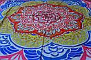 Килимок мандала підстилка на пляж пляжний килимок настінний гобелен декор, фото 2