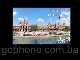 "Телевизор Liberton 28"" FullHD/DVB-T2/USB, фото 3"