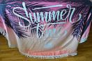 Пляжный коврик summer time полотенце плед покрывало пляжний рушник покривало килимок, фото 4