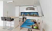 Наклейка на стол Zatarga «Кувшин» 650х1200мм для домов, квартир, столов, кофейн, кафе