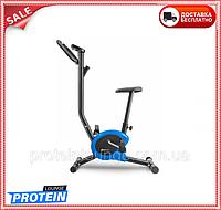 Велотренажер для дома магнитный до 100 кг Hop-Sport HS-010H Rio синий