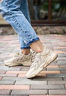 Женские кроссовки Adidas Ozweego Brown \ Адидас Озвиго Коричневые \ Жіночі кросівки Адідас Озвіго Коричневі