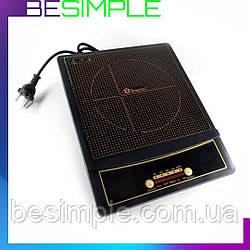 Електроплита DOMOTEC MS-5832 1ИД / Індукційна сенсорна