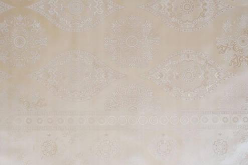 Скатерть клеенчатая на тканевой основе с перламутровым рисунком, фото 2