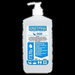 Антисептический гель для рук «CLEAN STREAM» с дозатором 1000 мл (1уп/8шт)