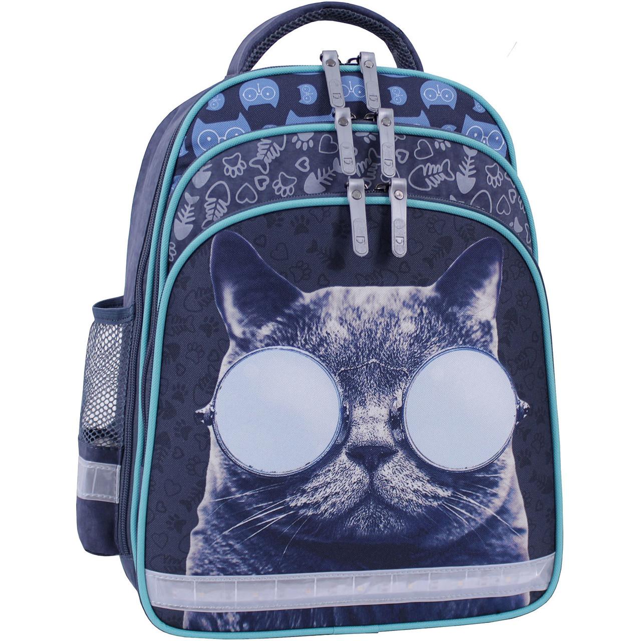 Рюкзак школьный Bagland Mouse 321 серый 611 (0051370)