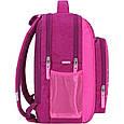 Рюкзак школьный для девочки Bagland Школьник 8 л. 143 малиновый 515 совы (0012870), фото 2