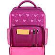 Рюкзак школьный для девочки Bagland Школьник 8 л. 143 малиновый 515 совы (0012870), фото 4