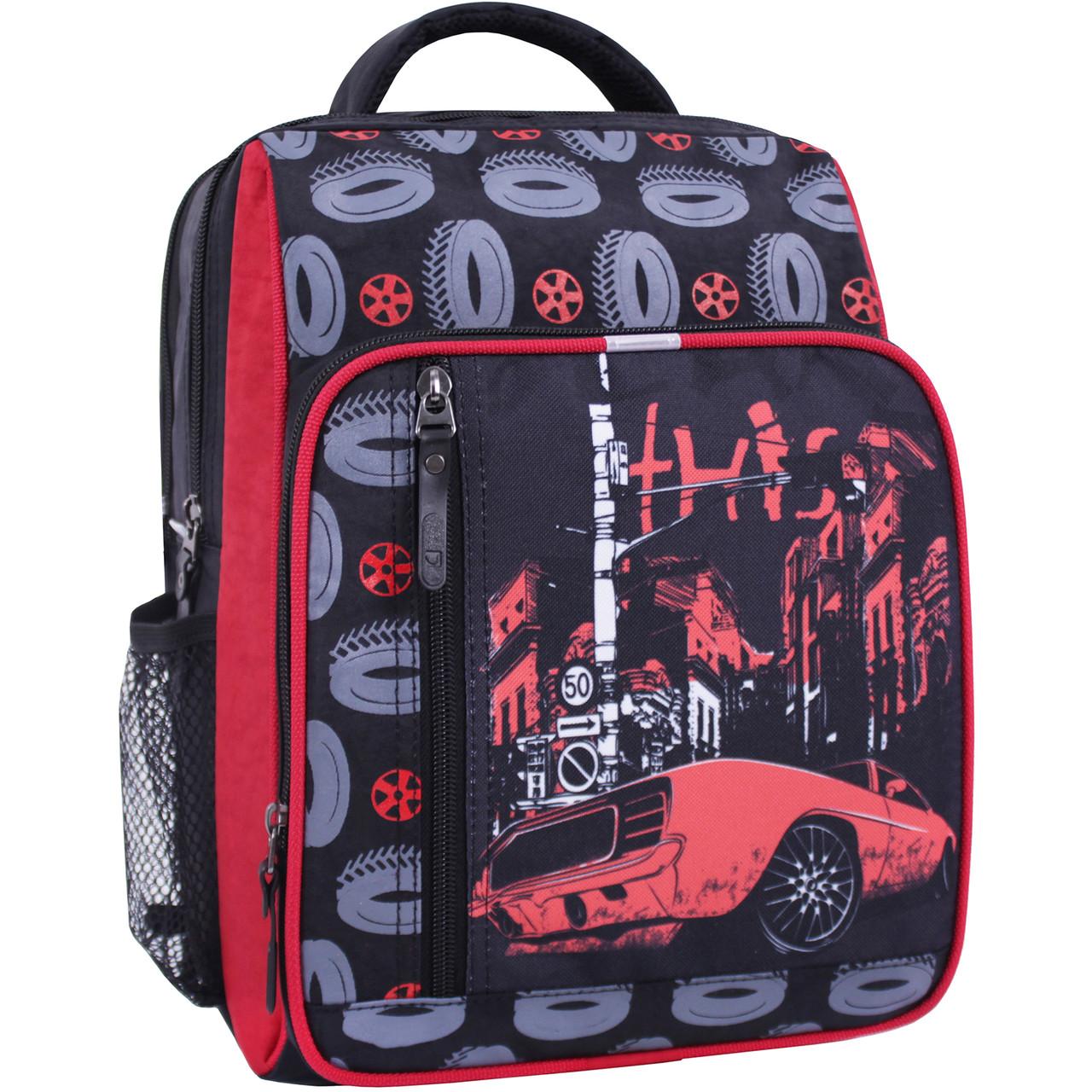 Рюкзак школьный Bagland Школьник 8 л. черный 568 (0012870)