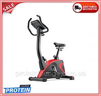 Велотренажер для дома электромагнитный до 150 кг Hop-Sport HS-005H Host черный с красным