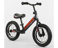 Велобег (беговел) CORSO колеса надувные 12 дюймов арт. 42812