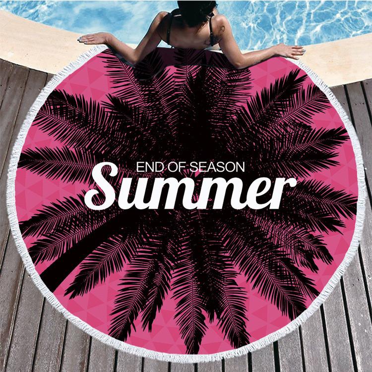 Пляжный коврик end of season summer полотенце плед покрывало пляжний рушник покривало килимок