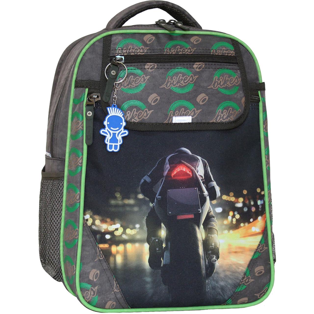 Рюкзак школьный Bagland Отличник 20 л. 327 хаки 270к (0058070)
