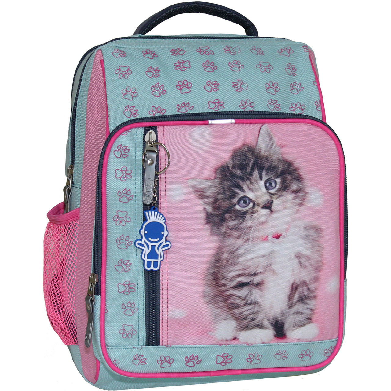 Рюкзак для девочки Bagland Школьник 8 л. тиффани 65д (00112662)