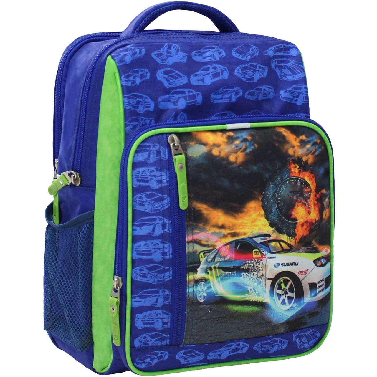 Рюкзак школьный Bagland Школьник 8 л. 223 электрик 18м (0012870)