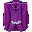 Рюкзак школьный каркасный с фонариками Bagland Успех 12 л. фиолетовый 409 (00551703), фото 4