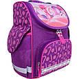 Рюкзак школьный каркасный с фонариками Bagland Успех 12 л. фиолетовый 409 (00551703), фото 6