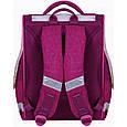 Рюкзак школьный каркасный с фонариками Bagland Успех 12 л. малиновый 434 (00551703), фото 2