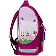 Рюкзак школьный каркасный с фонариками Bagland Успех 12 л. малиновый 434 (00551703), фото 3