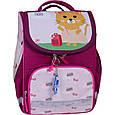 Рюкзак школьный каркасный с фонариками Bagland Успех 12 л. малиновый 434 (00551703), фото 5