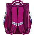 Рюкзак школьный каркасный с фонариками Bagland Успех 12 л. малиновый 430 (00551703), фото 2