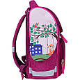 Рюкзак школьный каркасный с фонариками Bagland Успех 12 л. малиновый 430 (00551703), фото 3