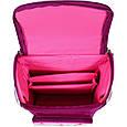 Рюкзак школьный каркасный с фонариками Bagland Успех 12 л. малиновый 430 (00551703), фото 6