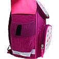 Рюкзак школьный каркасный с фонариками Bagland Успех 12 л. малиновый 430 (00551703), фото 7