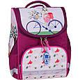 Рюкзак школьный каркасный с фонариками Bagland Успех 12 л. малиновый 430 (00551703), фото 8