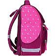 Рюкзак школьный каркасный с фонариками Bagland Успех 12 л. малиновый 167 (00551703), фото 2