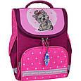 Рюкзак школьный каркасный с фонариками Bagland Успех 12 л. малиновый 167 (00551703), фото 8
