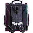 Рюкзак школьный каркасный с фонариками Bagland Успех 12 л. черный 406 (00551703), фото 2
