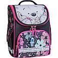 Рюкзак школьный каркасный с фонариками Bagland Успех 12 л. черный 406 (00551703), фото 3