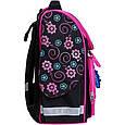 Рюкзак школьный каркасный с фонариками Bagland Успех 12 л. черный 406 (00551703), фото 4