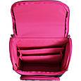 Рюкзак школьный каркасный с фонариками Bagland Успех 12 л. черный 406 (00551703), фото 7