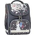 Рюкзак школьный каркасный с фонариками Bagland Успех 12 л. серый 210к (00551703), фото 5