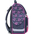 Рюкзак школьный каркасный с фонариками Bagland Успех 12 л. серый 204к (00551703), фото 2