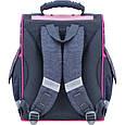 Рюкзак школьный каркасный с фонариками Bagland Успех 12 л. серый 204к (00551703), фото 3