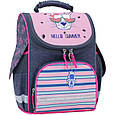 Рюкзак школьный каркасный с фонариками Bagland Успех 12 л. серый 204к (00551703), фото 5