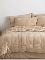 Комплект постельного белья 200x220 LIMASSO ANDALUSIA AKDENIZ BEJI бежевый